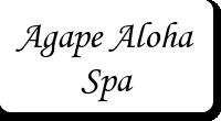 Agape Aloha Spa